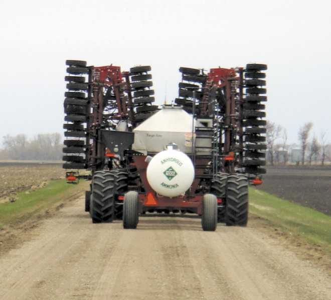 Air Till Drill transport