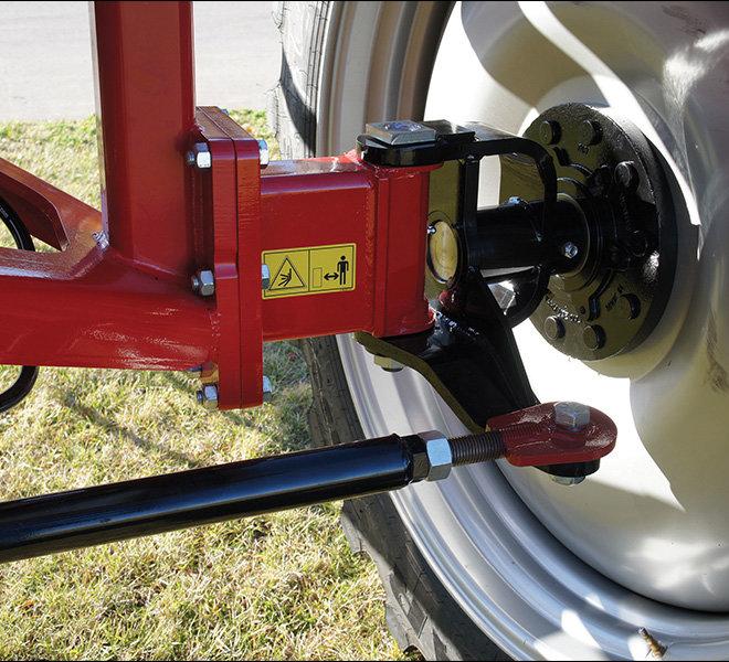 2250 Steerable axle